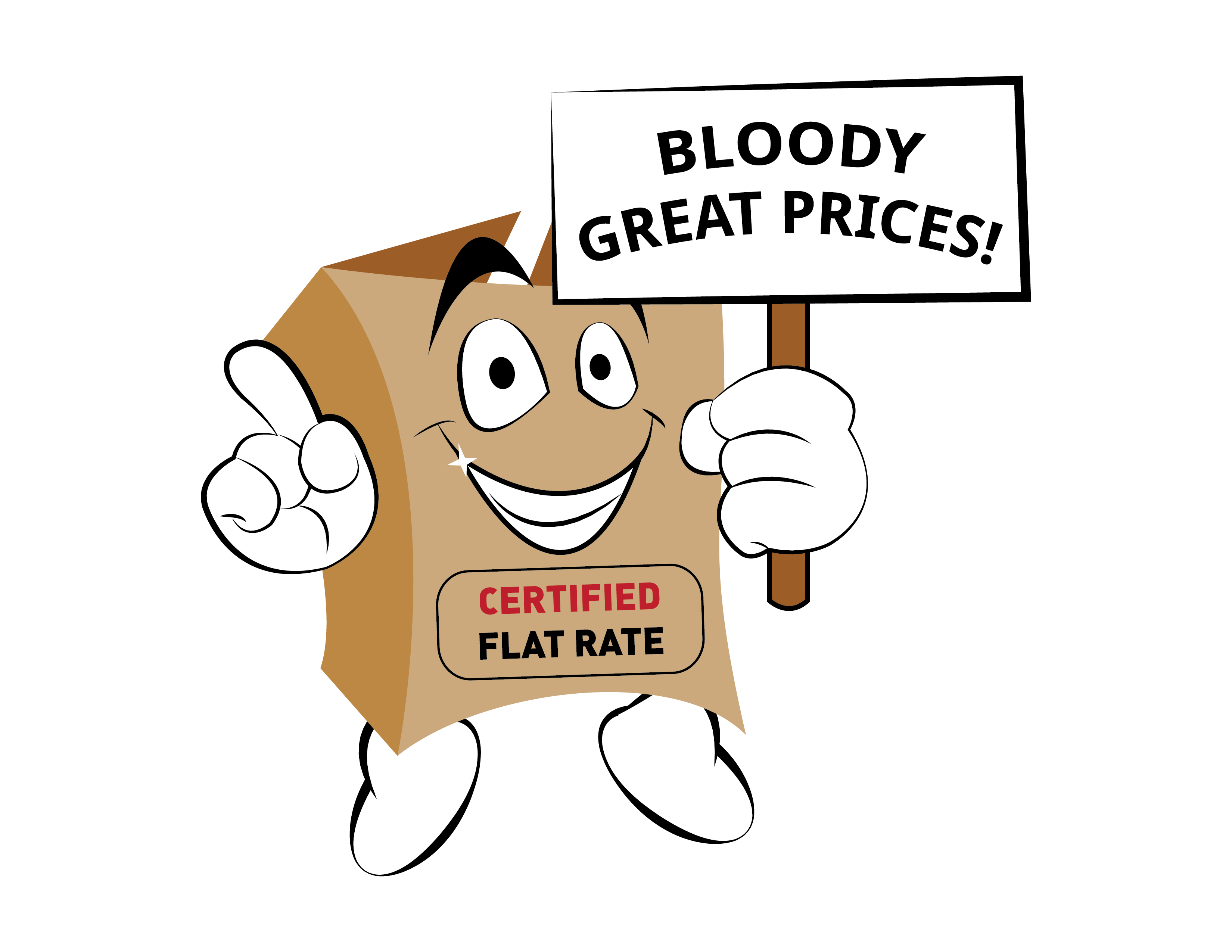 WizMe flat rate, bloody great prices!